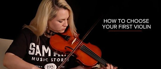 How to Choose Your First Violin