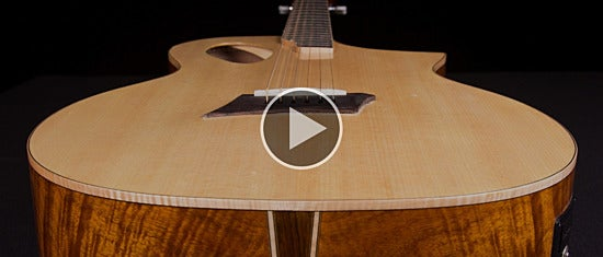 Michael Kelly Triad Port Acoustic-Electric Guitar: Quick Look