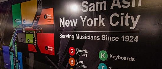 Sam Ash New York City: Store Tour