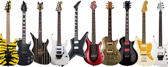 Top 10 Inexpensive Signature Guitars