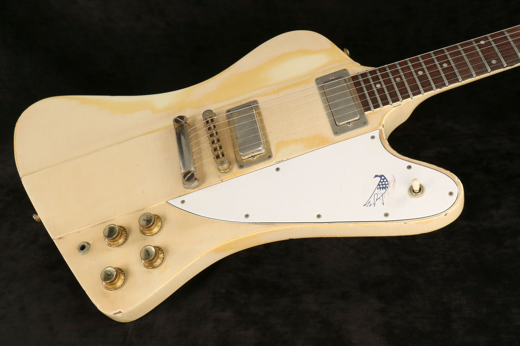 Gibson Special Edition Bicentennial '76 Firebird in Polaris with Red, White, Blue Firebird Icon