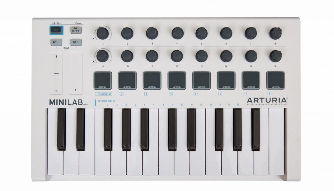 Arturia MiniLab MKII 25-Key USB MIDI Controller