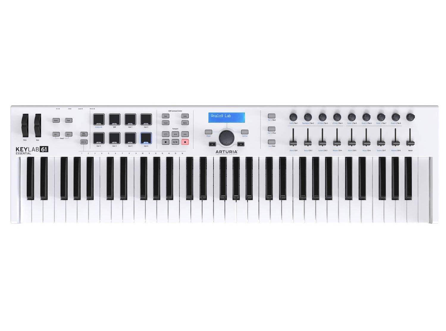 Arturia Keylab 61 Essential MIDI Controller