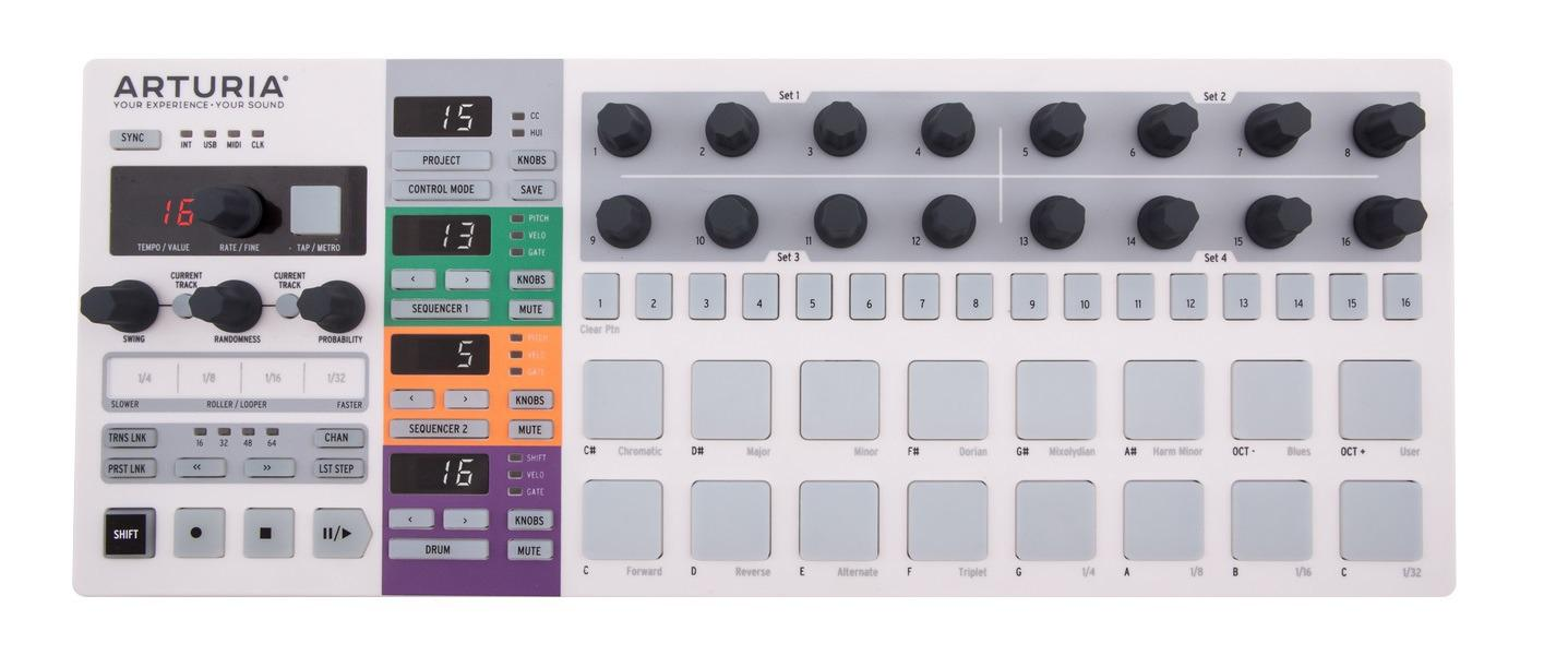 Arturia BeatStep Pro Sequencer and MIDI Controller