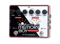 Electro-Harmonix Deluxe Memory Boy Analog Delay with Tap Tempo Guitar Effects Pedal