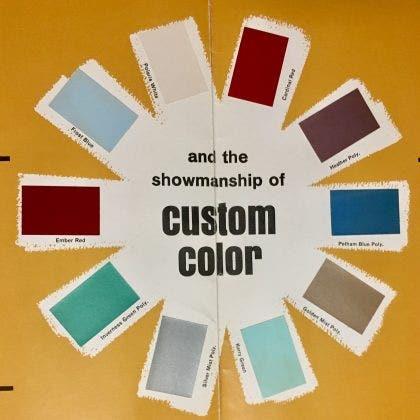 Firebird Color Chart