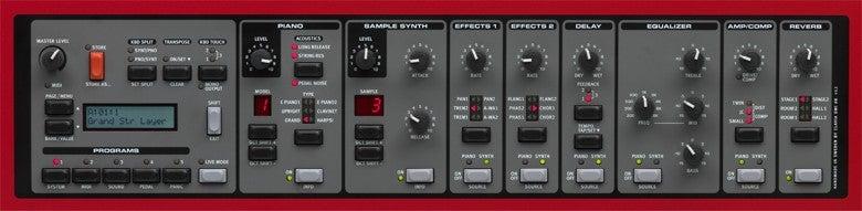 Nord Display and Knobs