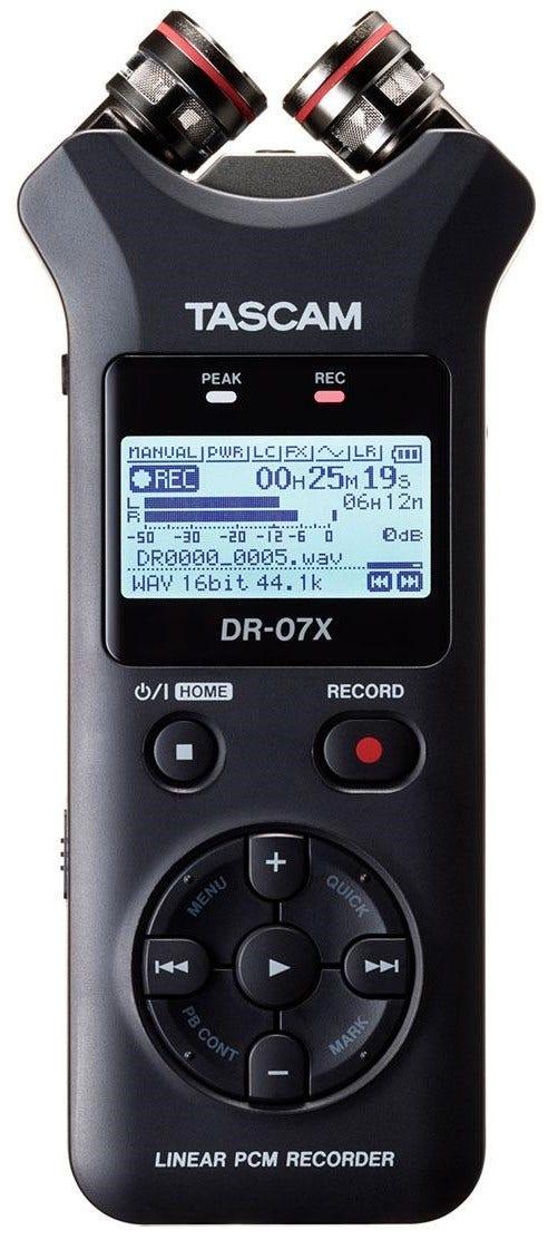 Tascam DR-07X Handheld Portable Recorder