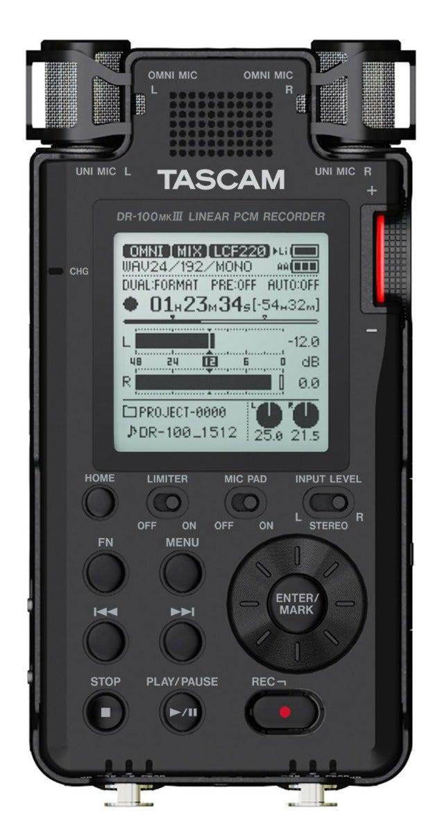 Tascam DR-100 MKIII Portable Digital Recorder