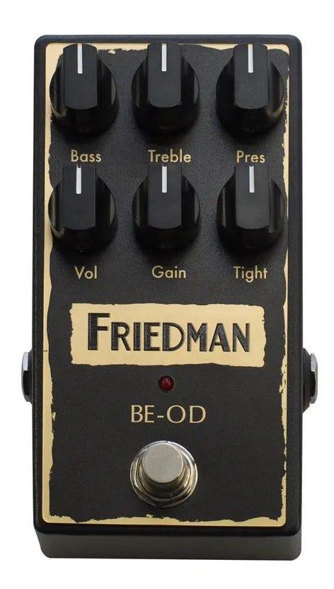 friedman be-od stompbox pedal