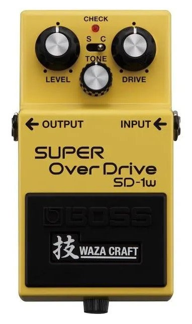 boss super overdrive pedal