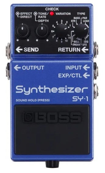 boss sy1 pedal