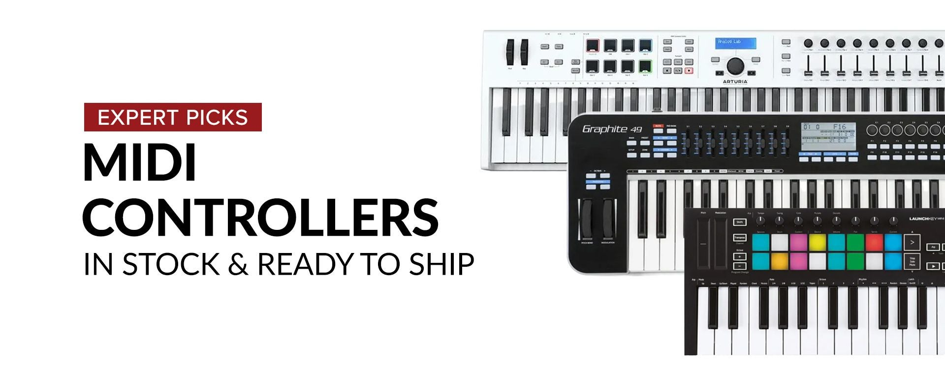 Shop The Best MIDI Controllers at Sam Ash