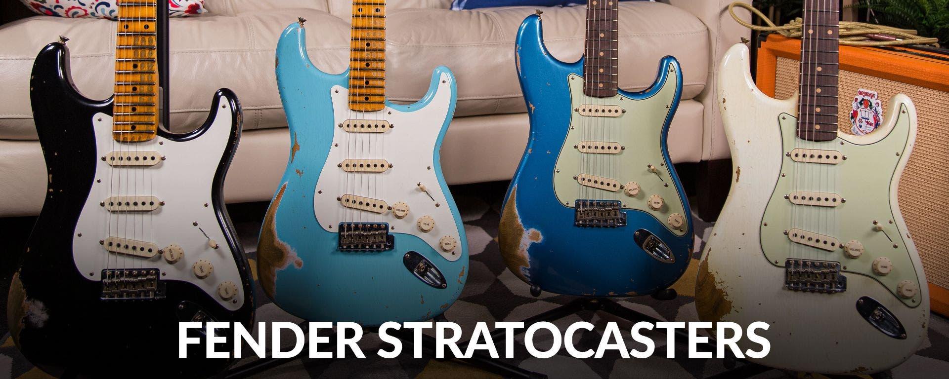Fender Stratocasters at Sam Ash