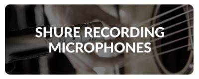 Shop Shure Recording Microphones at Sam Ash