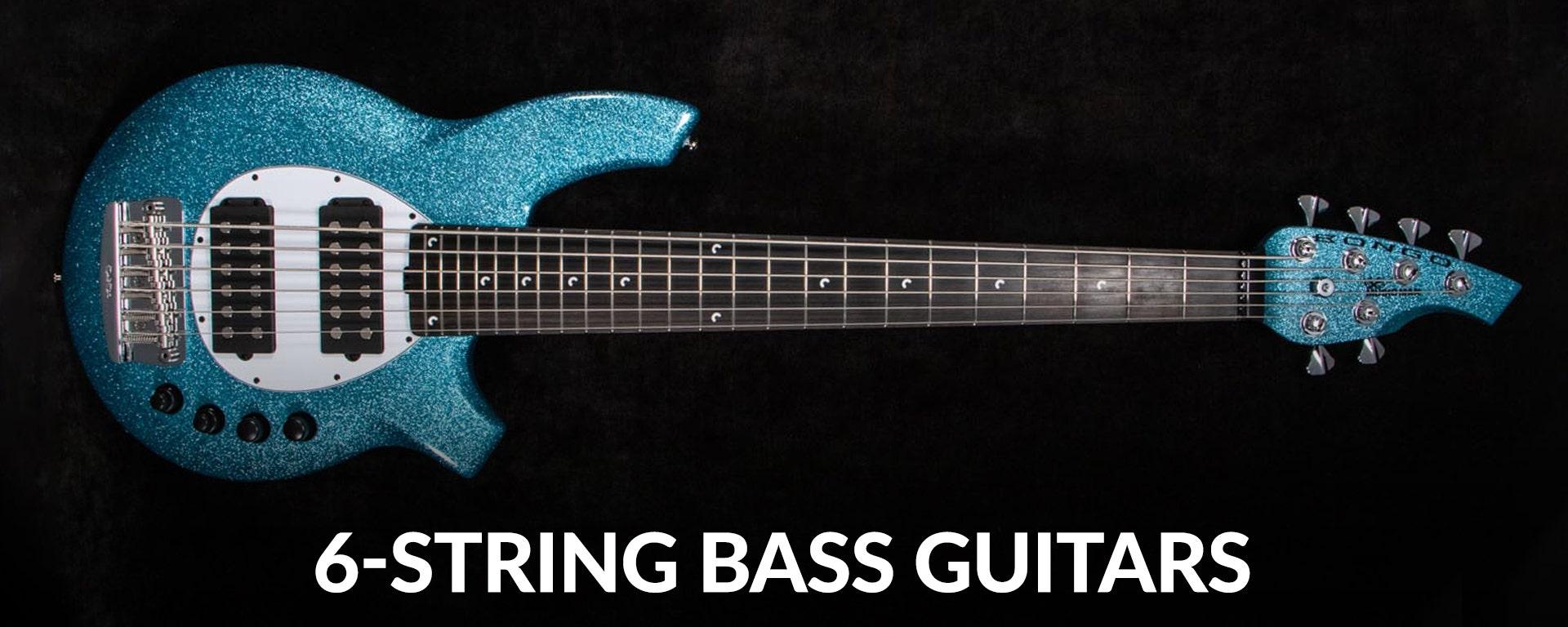 Shop 6-string electric bass guitars at Sam Ash