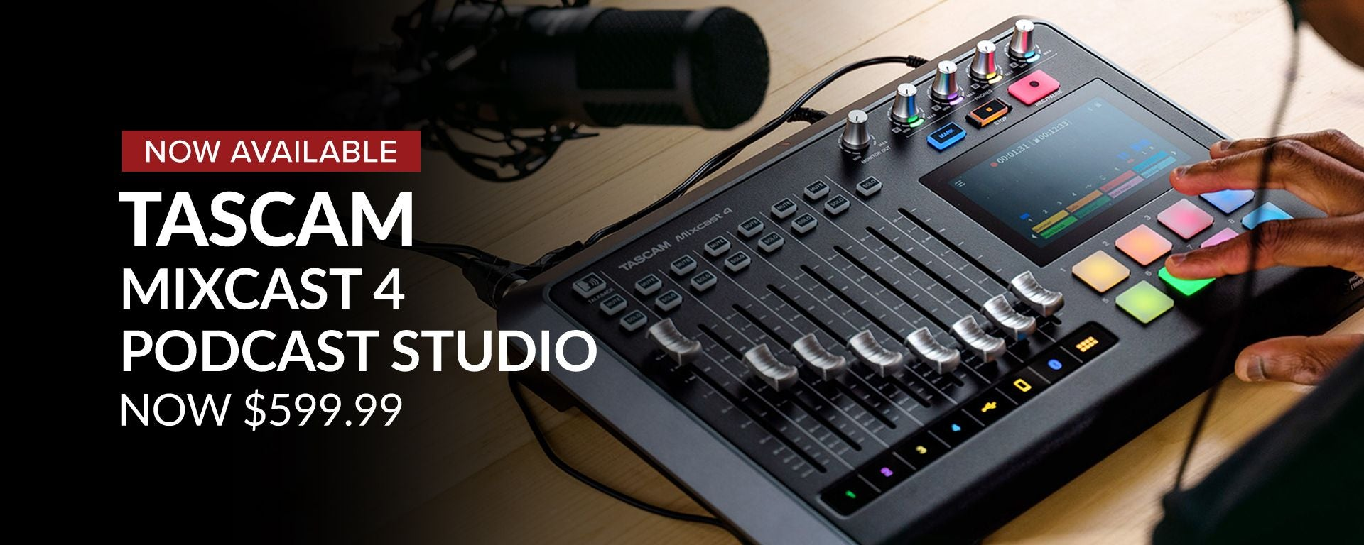 Shop Tascam Mixcast 4 At Sam Ash Music