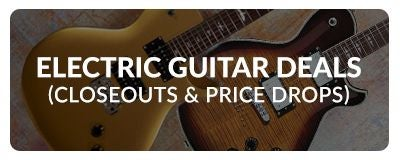 Shop Electric Guitars on Sale at Sam Ash