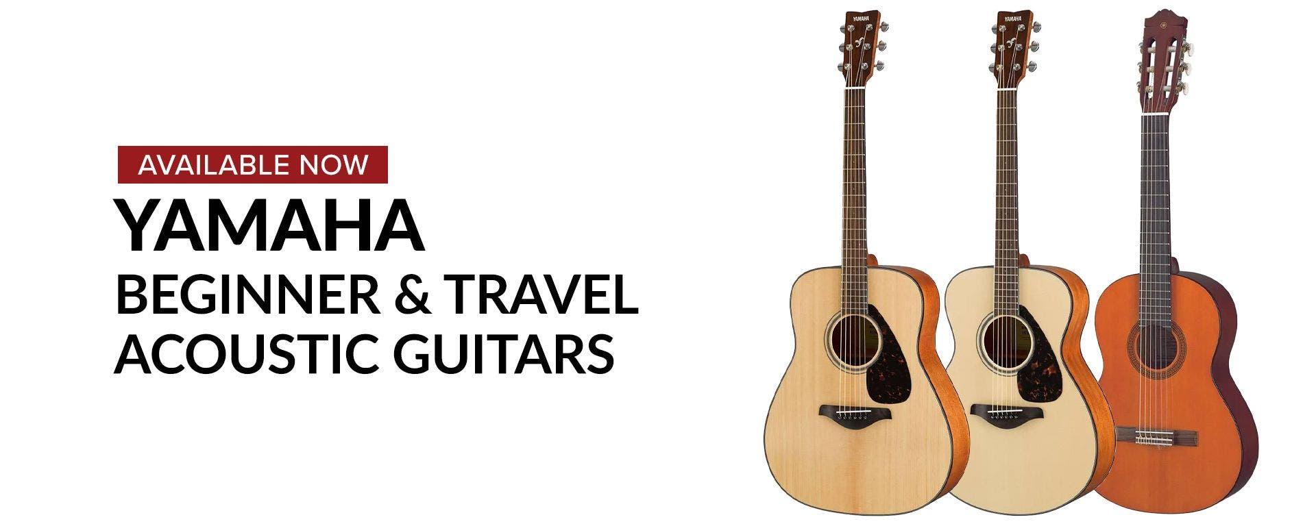 Yamaha Begginner & Travel Acoustic Guitars At Sam Ash