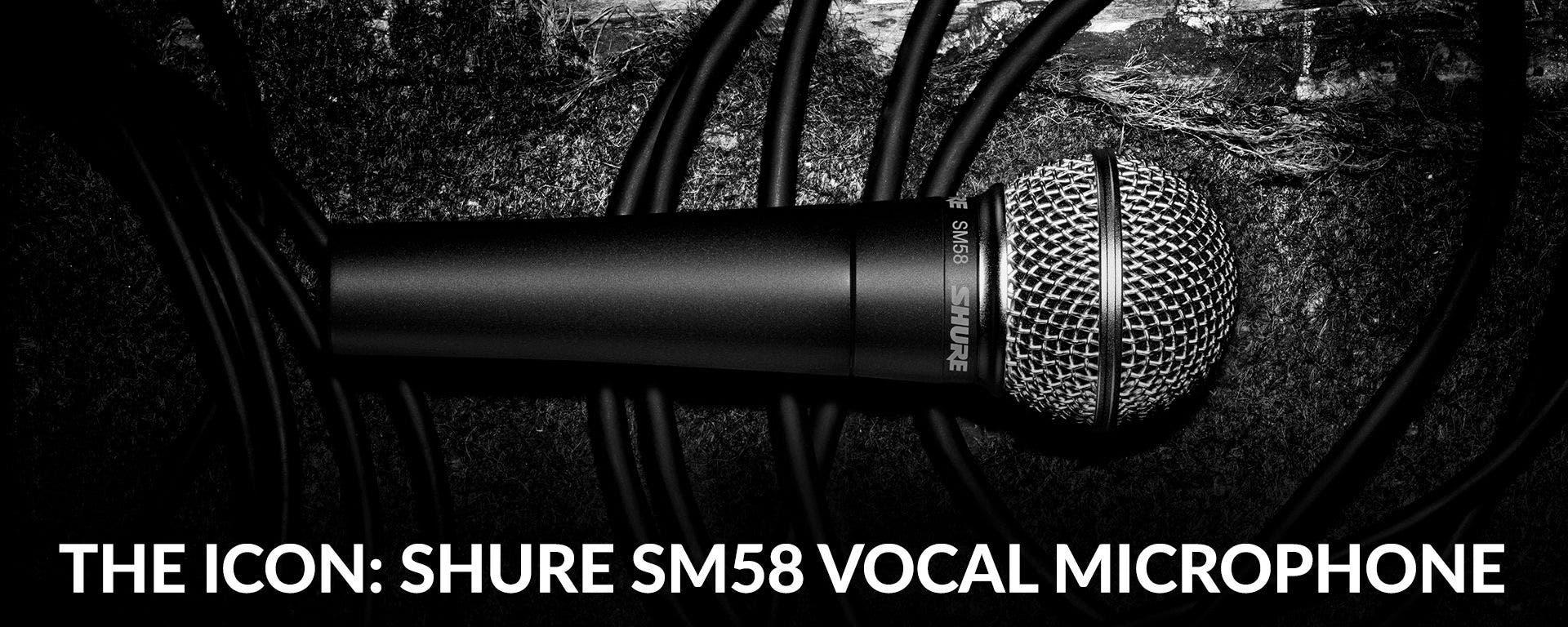 Shure SM58 Microphones At Sam Ash