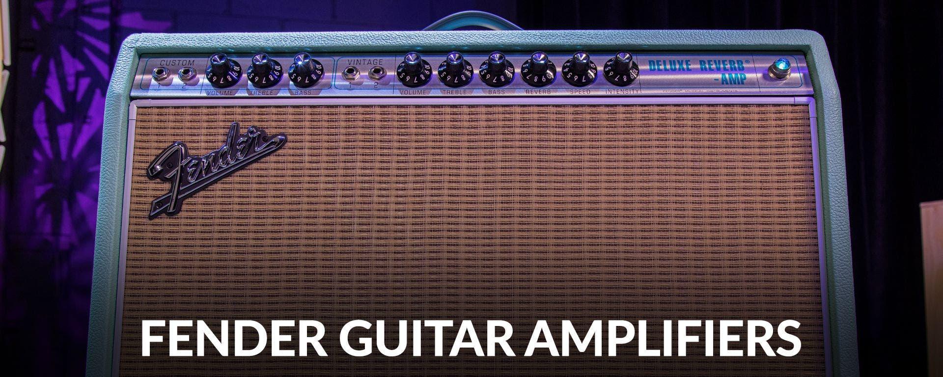 Fender Guitar Amplifiers at Sam Ash