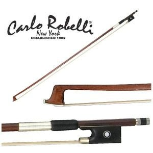 Carlo Robelli Brazilwood Full Size Violin Bow