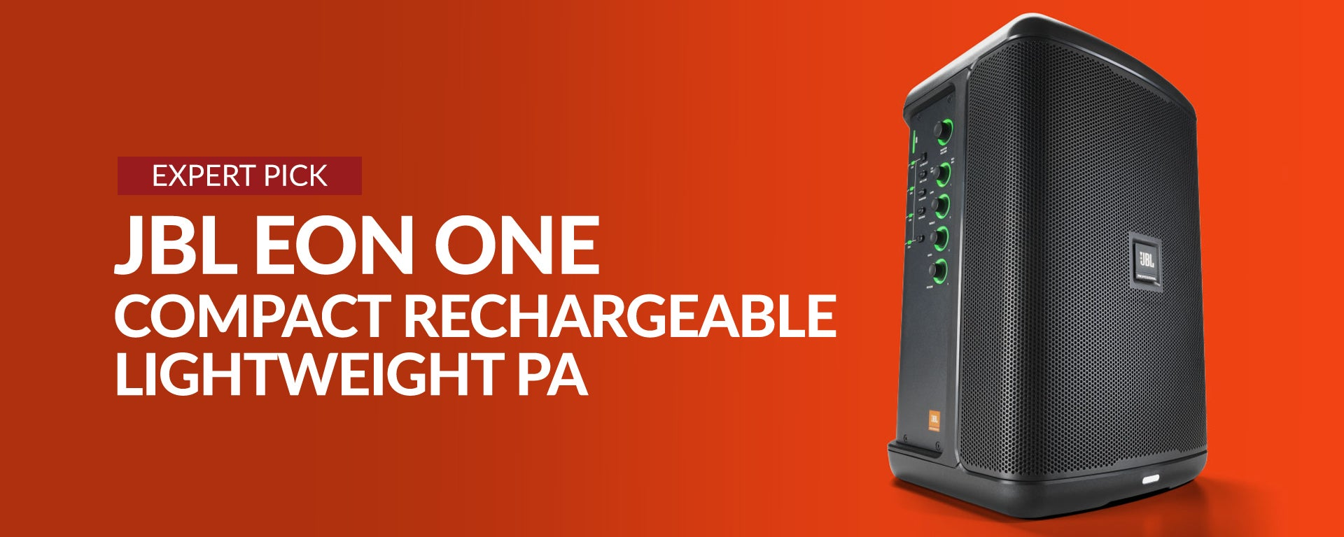 JBL: Eon One Compact Rechargeable Lightweight PA