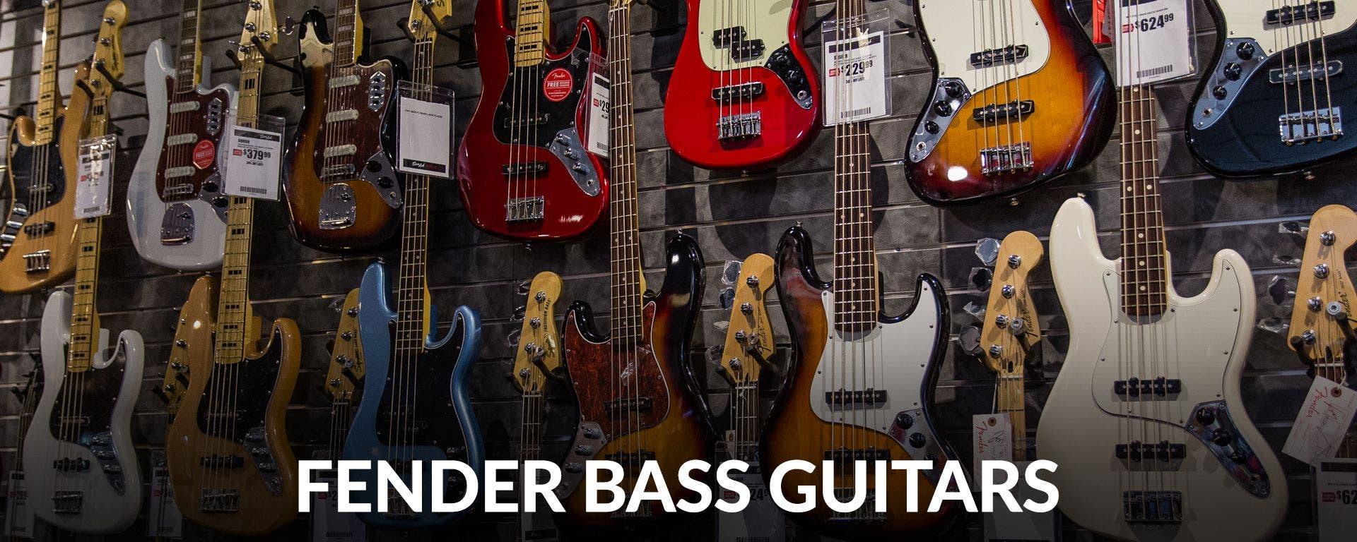 Fender Bass Guitars at Sam Ash