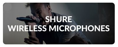 Shure Wireless Microphones At Sam Ash
