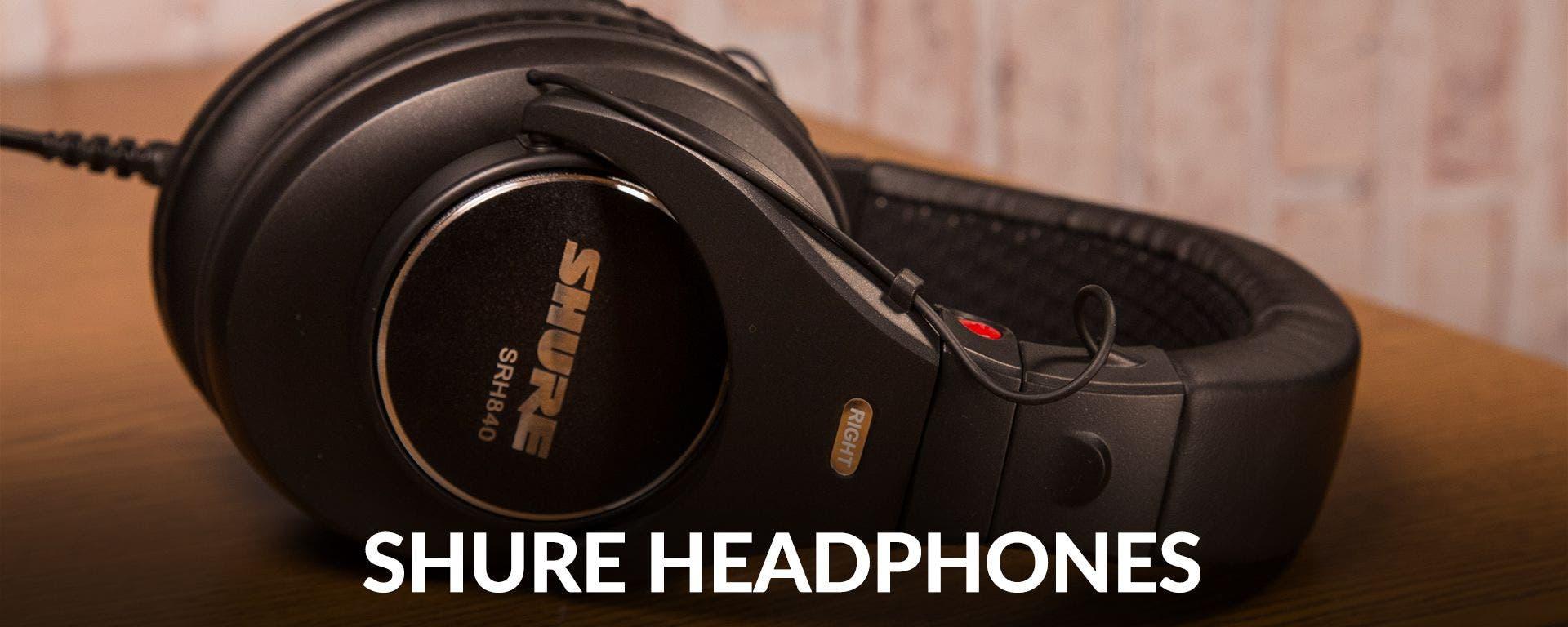 Shure Headphones at Sam Ash