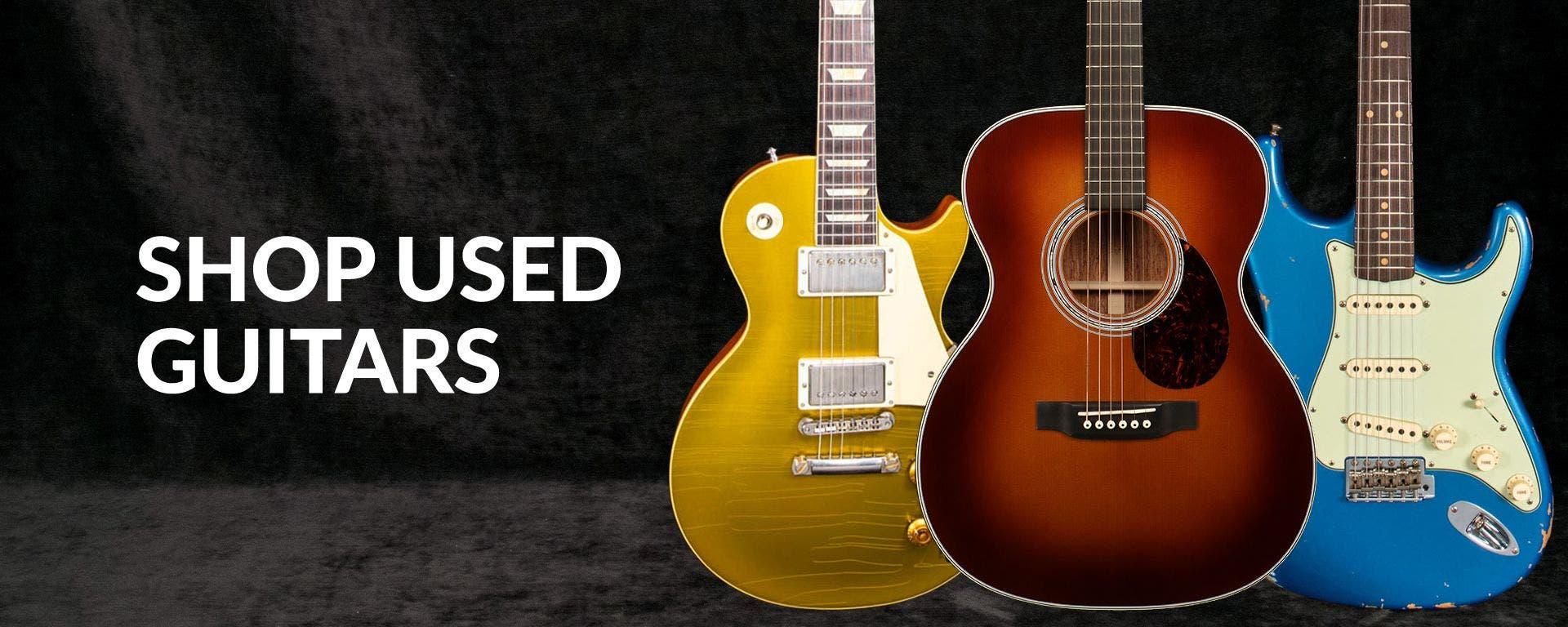 Used Guitars at Sam Ash