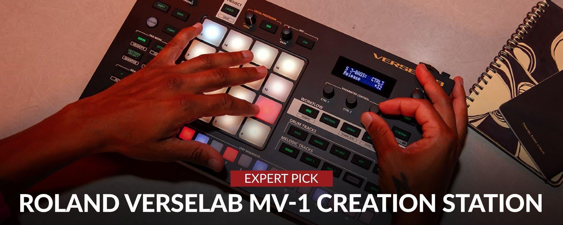 Roland Verselab MV-1 Creation Station At Sam Ash