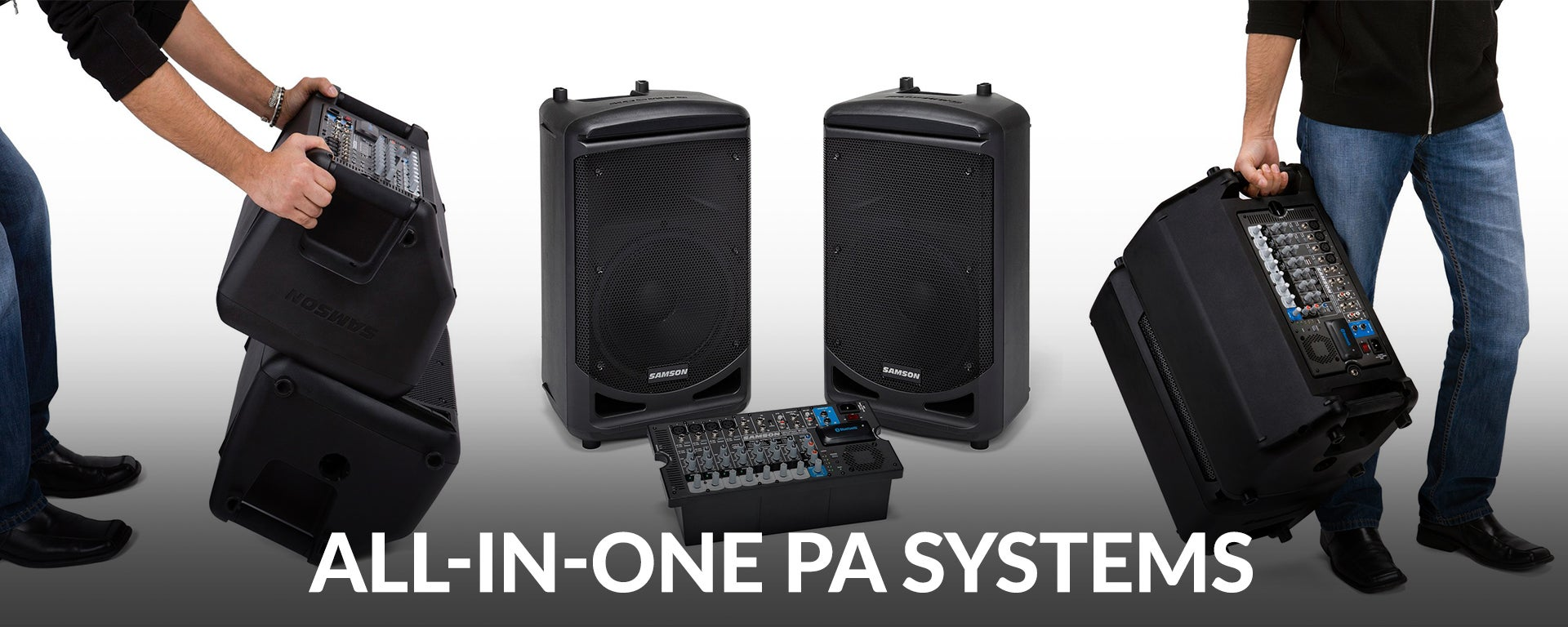 All In One PA Systems at SamAsh.com