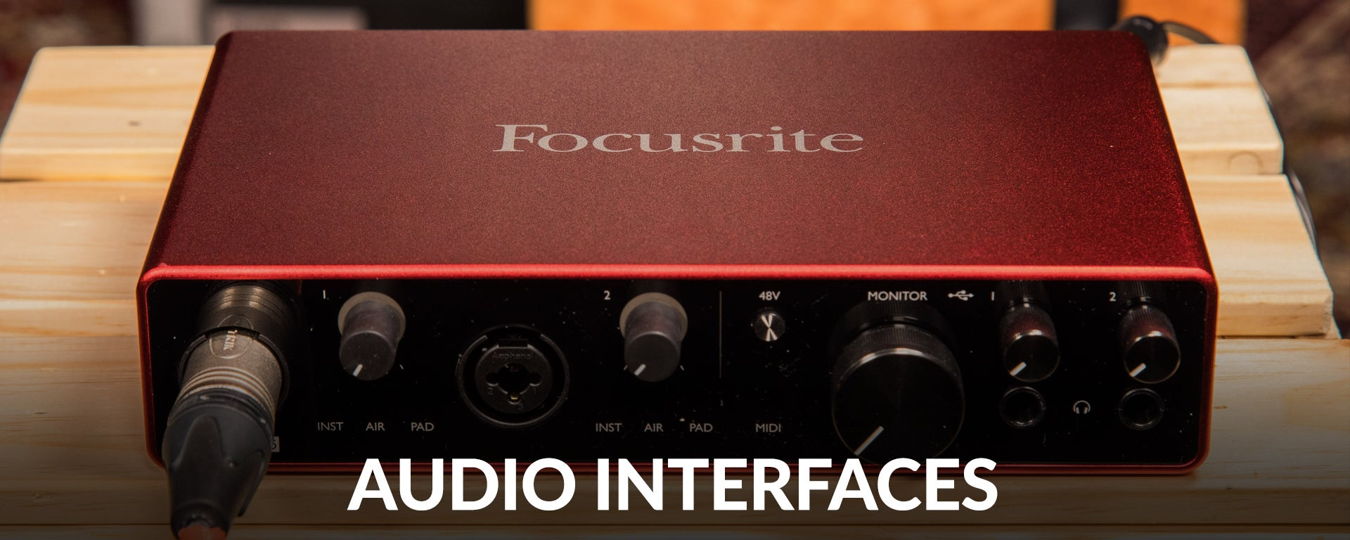 Shop Audio Interfaces at SamAsh.com