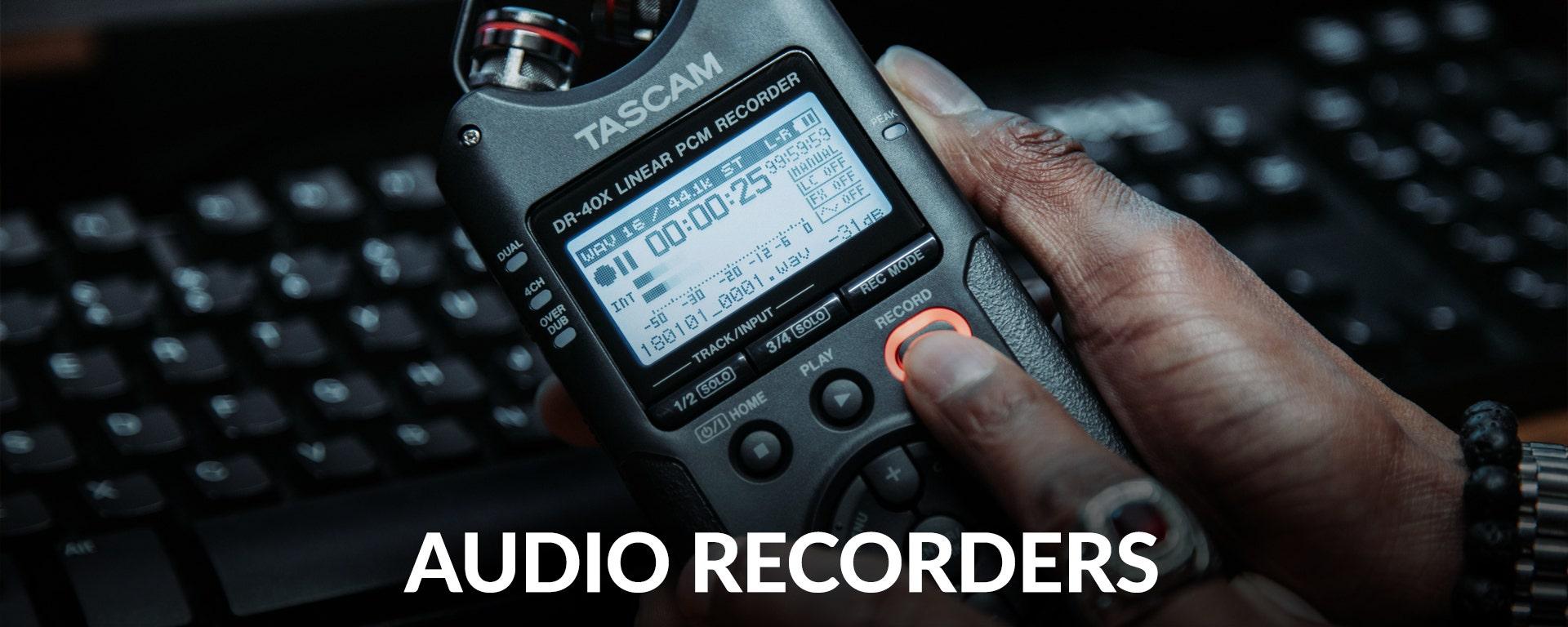 Shop Audio Recorders at SamAsh.com