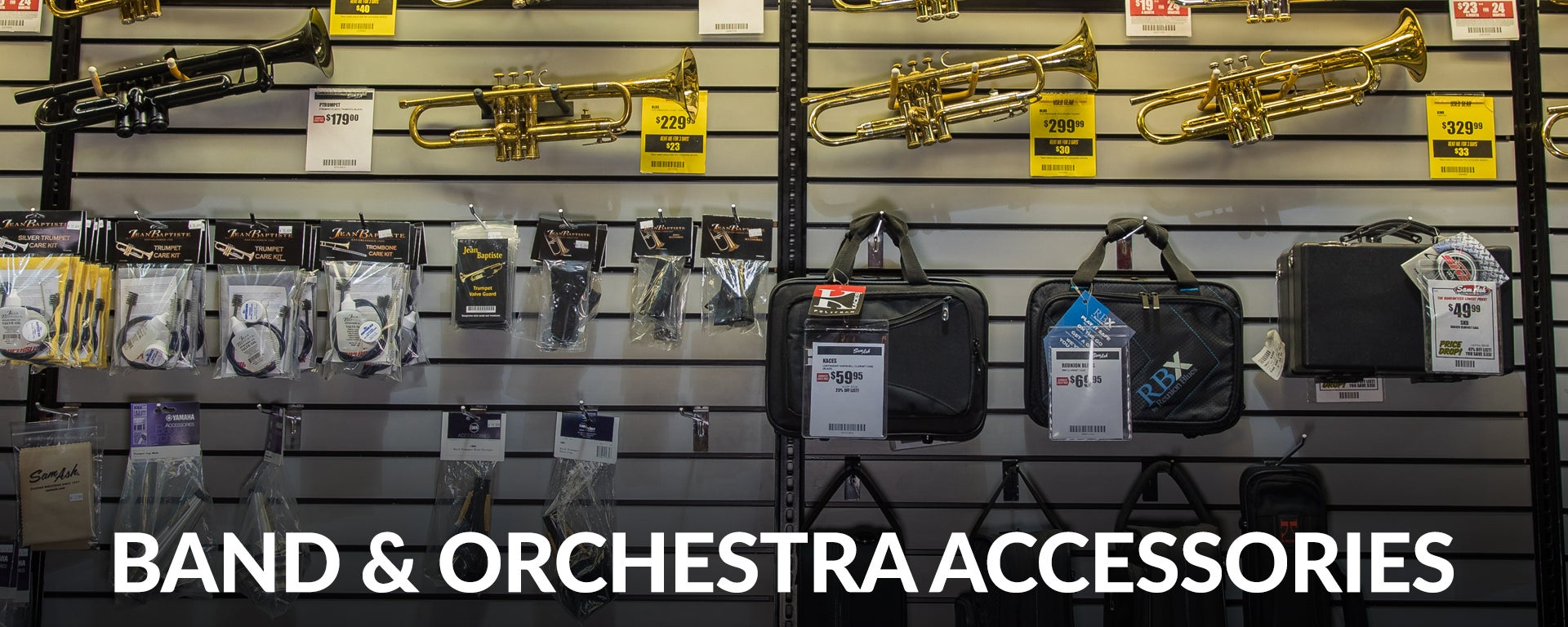 Shop Band and Orchestra Accessories at SamAsh.com