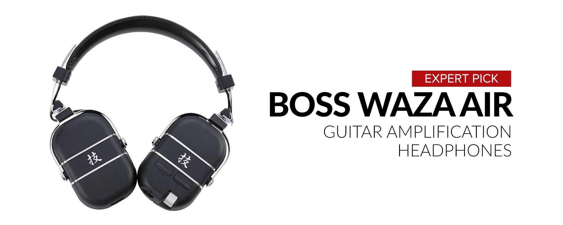 Boss: Waza Air Wireless Guitar Amplification Headphones