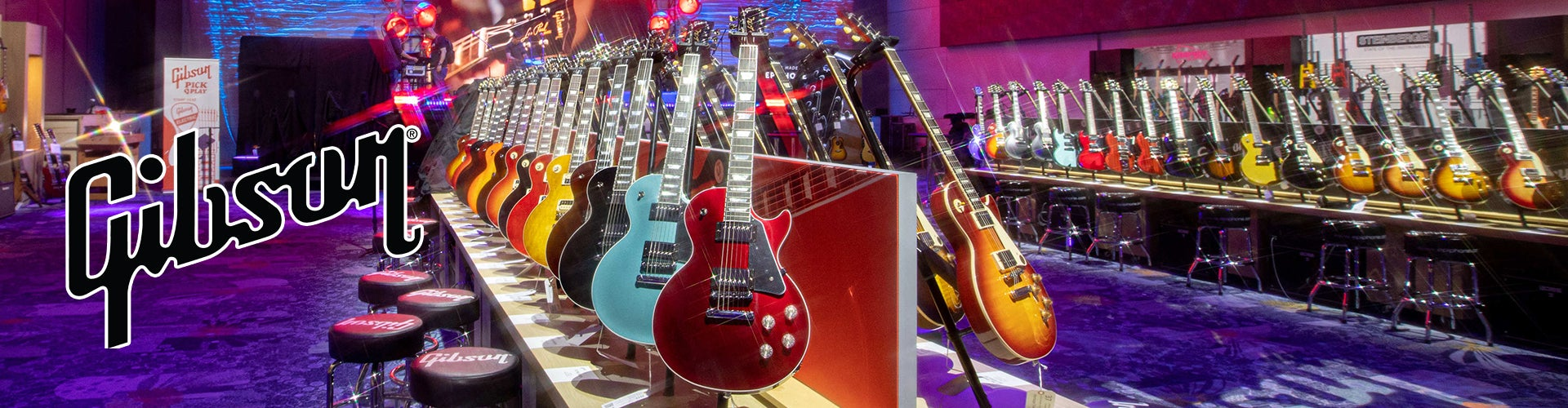 Gibson guitars at Sam Ash