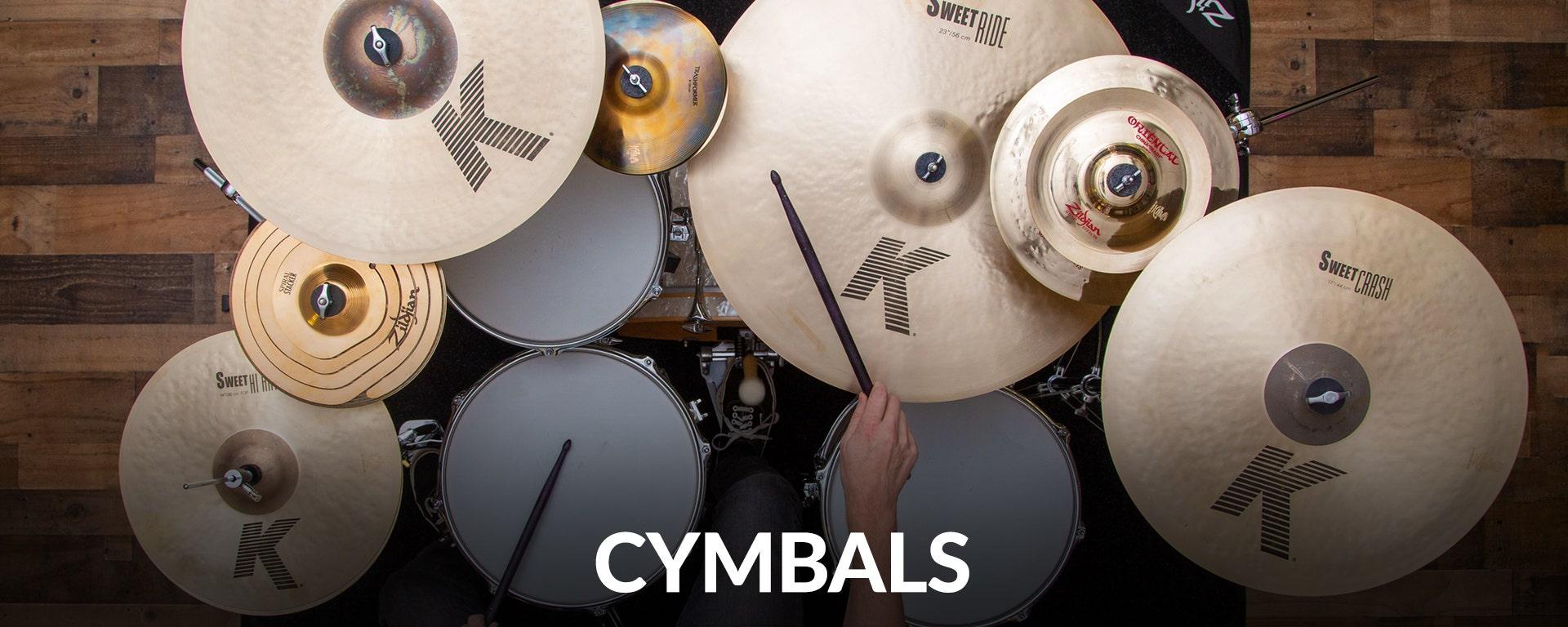 Cymbals At Samash.com