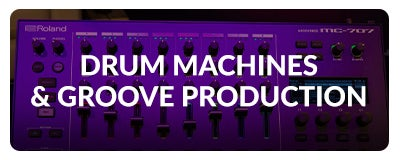 Shop Drum Machines and Groove Boxes At SamAsh.com