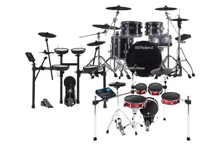 0% Interest For 40 Months On Electronic Drums at SamAsh.com