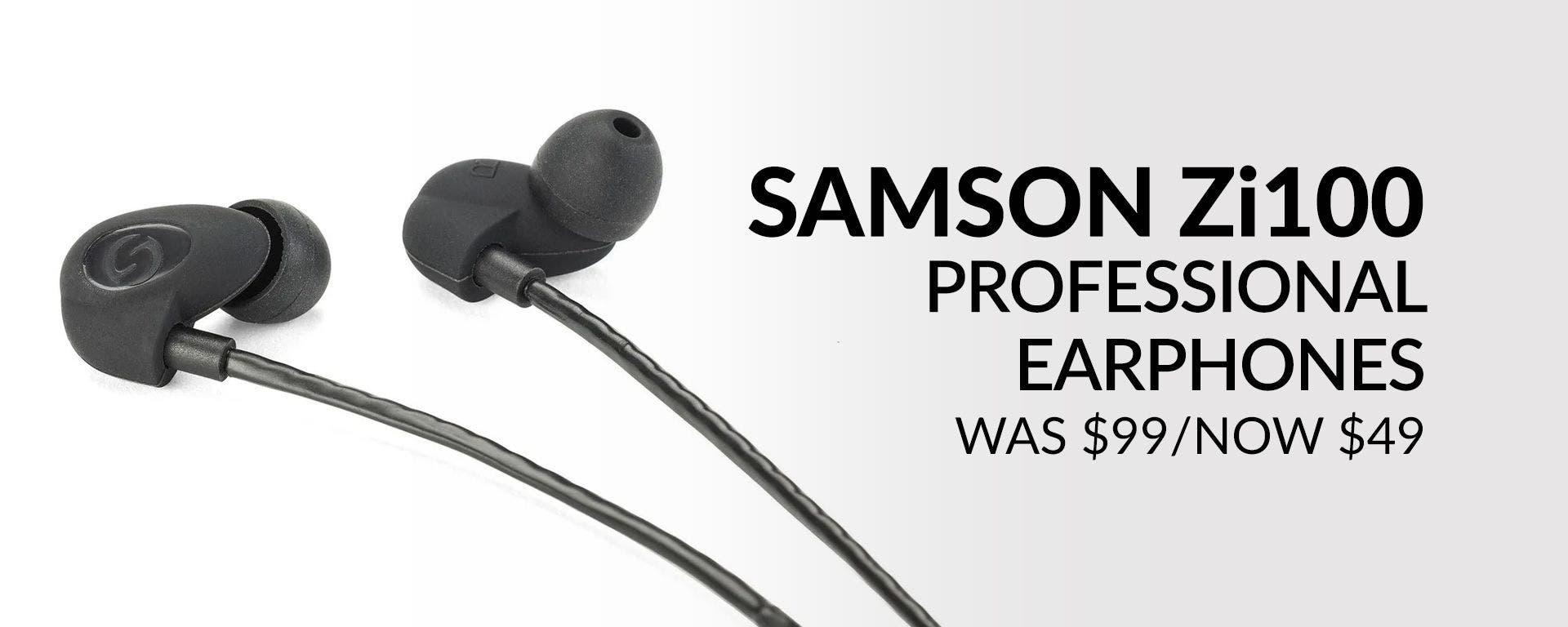 Samson Zi100 Headphone Deals at Sam Ash