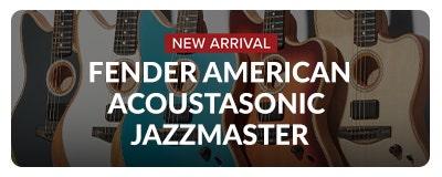 Fender American Acoustasonic Jazzmaster at Sam Ash