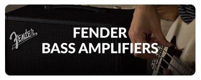 Fender Bass Amplifiers at Sam Ash