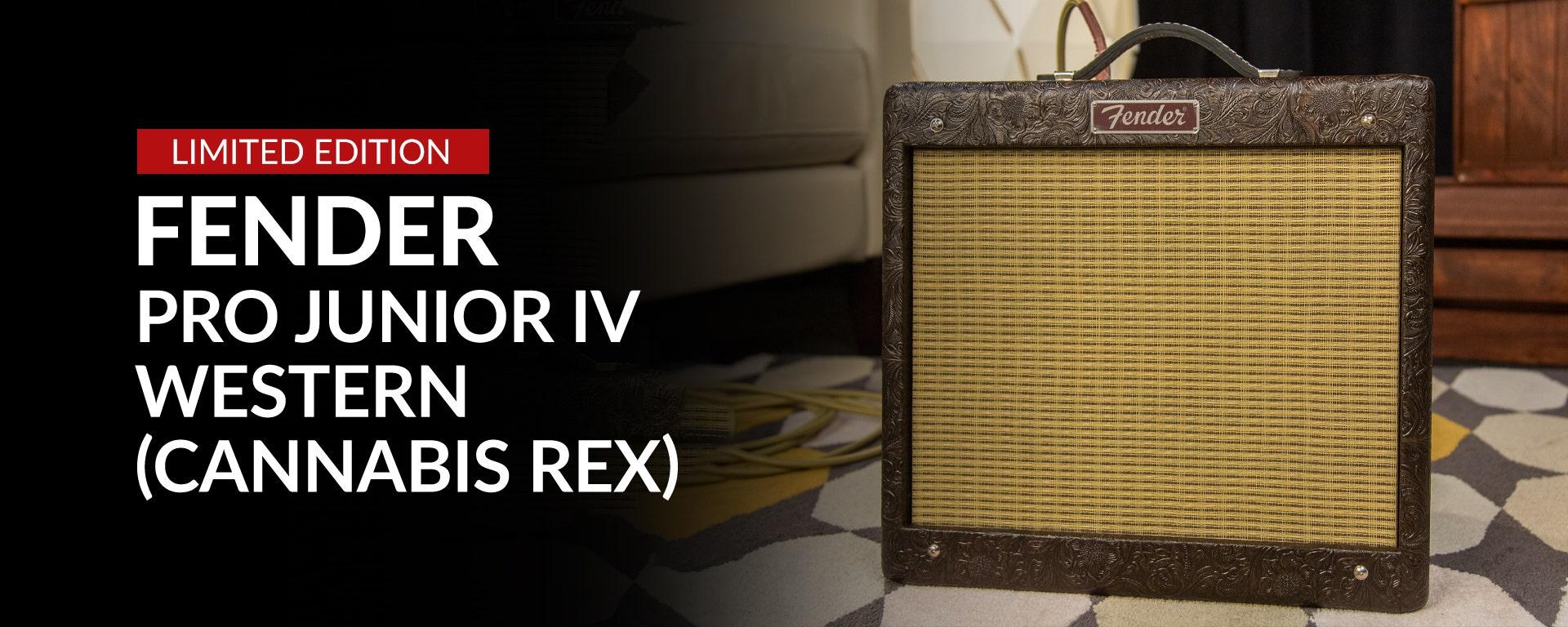 Limited Edition: Fender Pro Junior IV Western (Cannabis Rex)