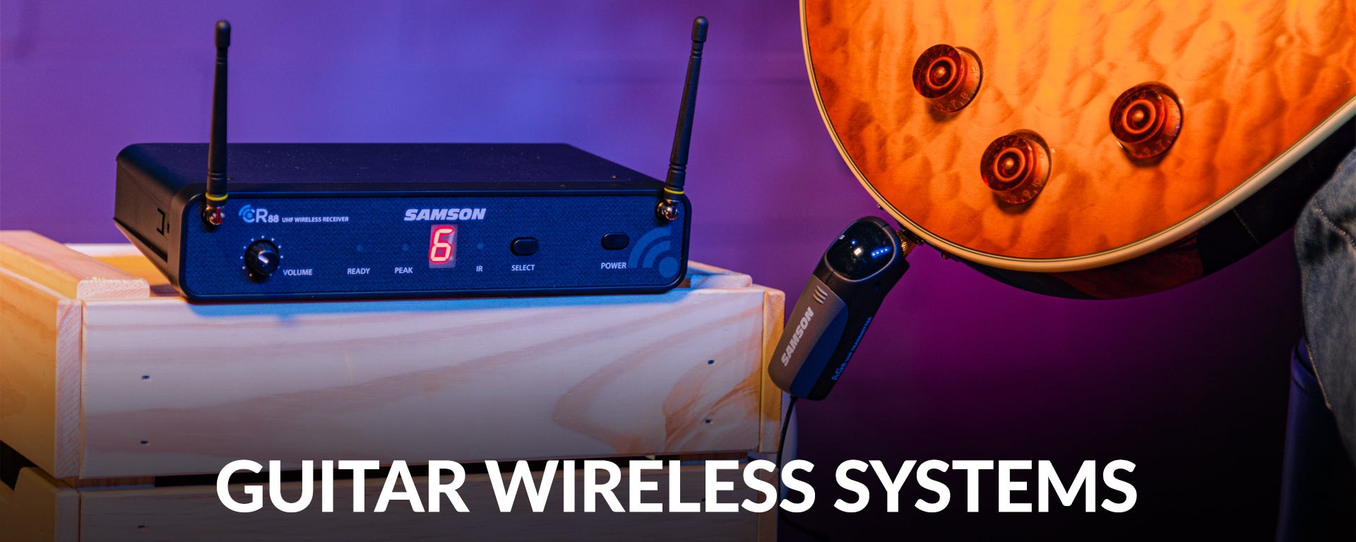Guitar Wireless Systems at SamAsh.com
