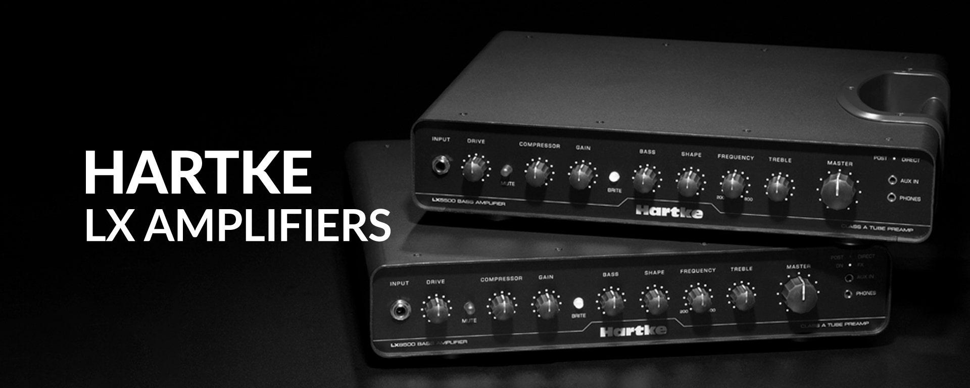 Hartke LX Bass Guitar Amplifiers