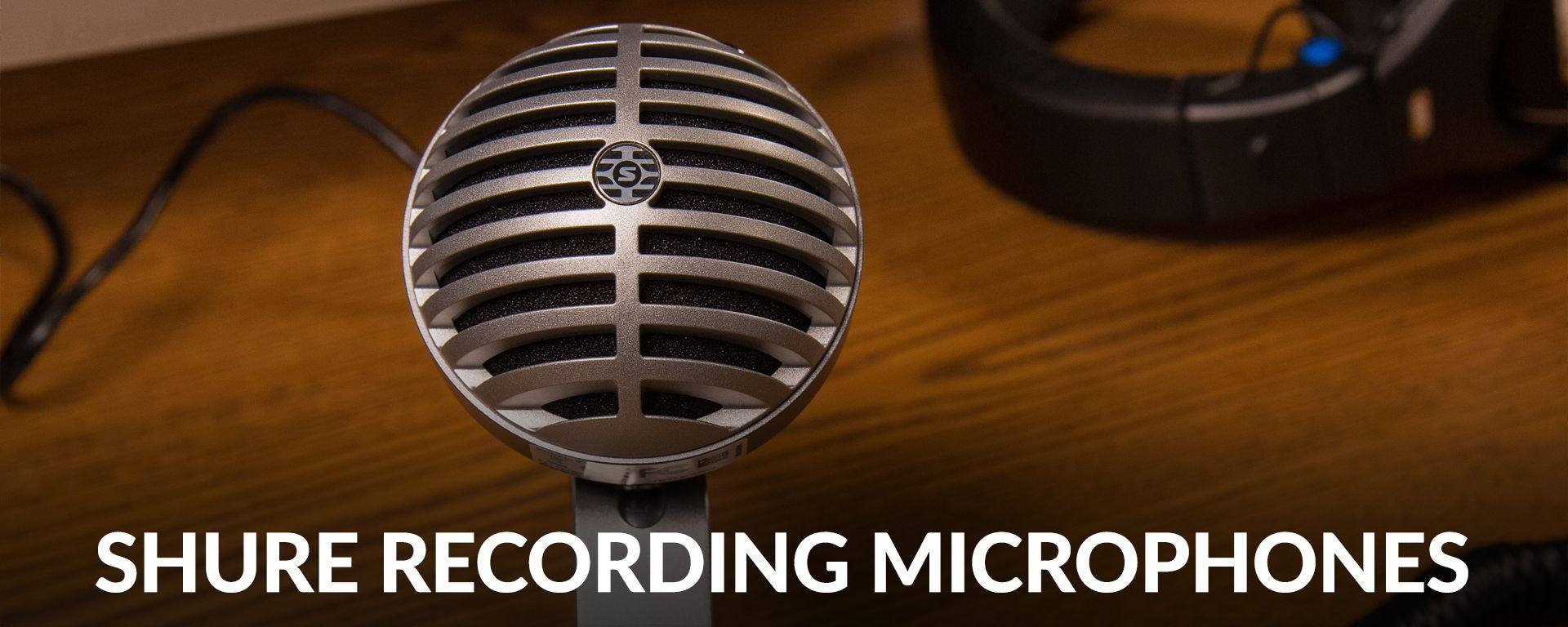 Shure Computer Microphones At Sam Ash