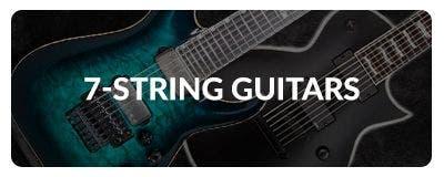 Shop 7 String Electric Guitars at Sam Ash