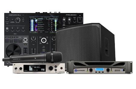 0% Interest For 40 Months On Live Sound Gear at SamAsh.com